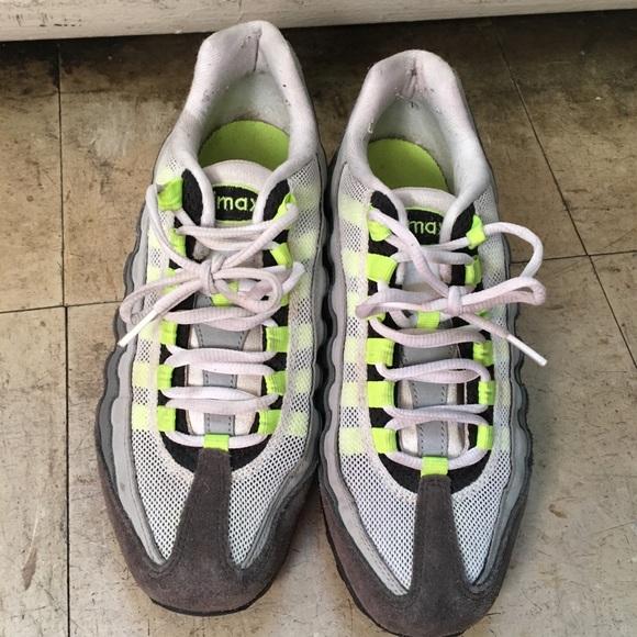 Classic Neon Green Air Max 95 Nike Poshmark